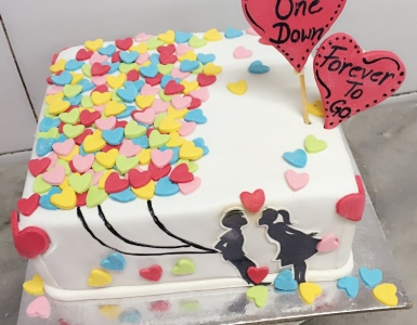 Surprise Wedding Anniversary Cake For Your Better Half