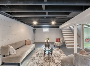 4 Ideas and Tips For Finishing Your Basement Ceiling